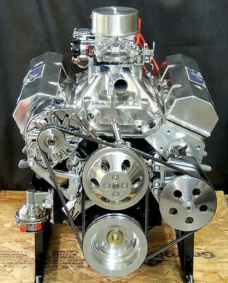 SBC 383  CHEVY STROKER ENGINE  & HYD ROLLER CAM 515 hp CRATE MOTOR
