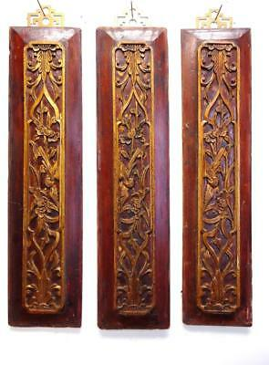 3/Set Authentic Antique Chinese Wood  Wall Panels  (M105~106)