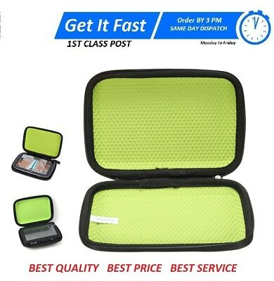 "6"" GPS Sat Nav Hard Case Cover Fit TomTom GO 600 610 620 6000 6100 6200 Trucker"