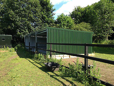 Steel frame buildings Open Fronted Building, Hay Shed,valeting Building