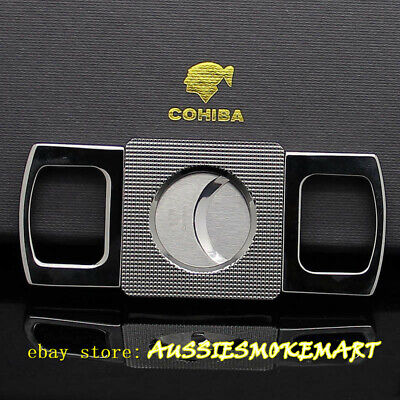 Cohiba Thickening Metal Stainless Steel scissors Cohiba Cigar Cutter