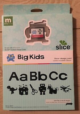 "Slice Elite Design Card Speicherkarte "" Big Kids "" Making Memories Alphabet"