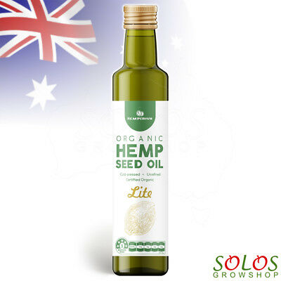Hemp Seed Oil Certified Organic Australian Made Hemperium Lite Free Delivery