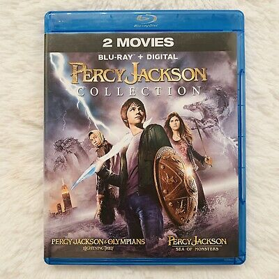 Percy Jackson Double Feature (Blu-ray Disc, 2014, 2-Disc Set)