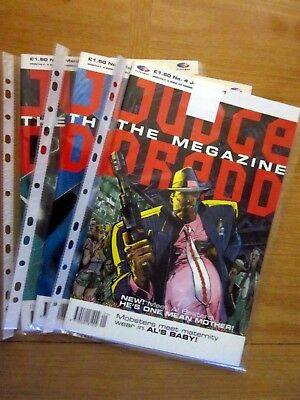 "Judge Dredd The Megazine - 3  Issues   1991  #4 #5 #6    "" NEW """
