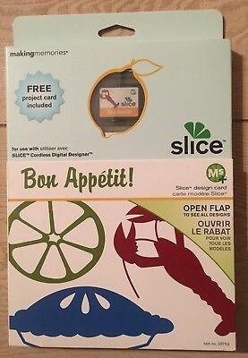 "Slice Elite Design Card Speicherkarte"" Bon Appetit !  ABC  "" Making Memories"