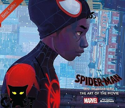 Spider-Man: Into the Spider-Verse -The Art of the Movie - Marvel NEW Hardcover