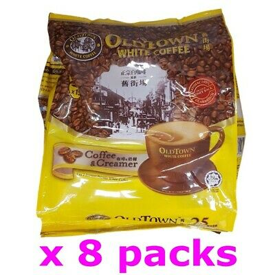 Old Town White Coffee 2 in 1 OldTown Malaysia Instant Coffee (25g x 120 sachets)