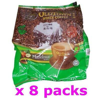 Old Town Malaysia Oldtown Hazelnut 3in1 Instant White Coffee (40g x120 sachets)