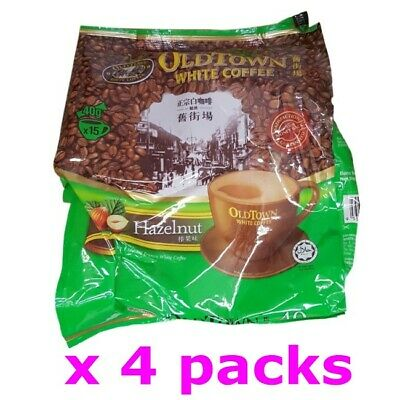 Old Town Malaysia Oldtown Hazelnut 3in1 Instant White Coffee (40g x 60 sachets)