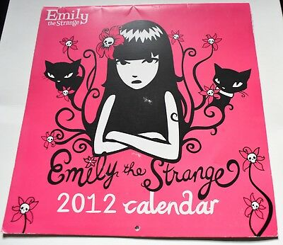 Emily The Strange Calendar 2012 edition Goth Girls Cosplay