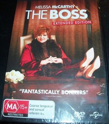 The Boss (Melissa McCarthy) Extended Edition (Australia Region 4) DVD – New