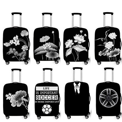 "Elastic Suitcase Dust Cover 18""-28"" Baggage Covers Travel Luggage Protector"