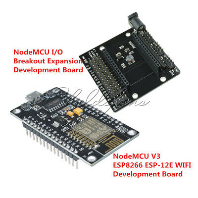 NodeMcu V3 Lua CH340G ESP8266 ESP-12E Breakout Expansion/Wifi Development Board