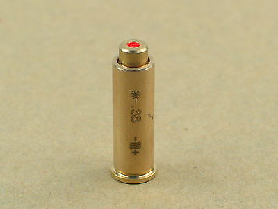 US Bullet Shaped CAL .38 Cartridge Brass Red Dot Laser Bore Sighter for Hunting