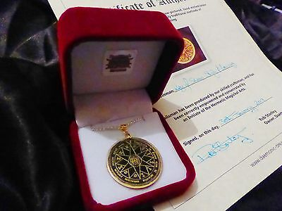 DEMON KING TALISMAN SOLID BRASS GOETIC Goetia Occult Amulet Magick Witchcraft