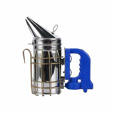 NEW Electric Bee Smoker Hive Stainless Steel Large Smoke Fume Machine Control CA