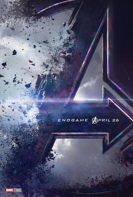 "Avengers 4 End Game Movie Poster 2018 Film Silk Print 13x20"" 24x36"" 27x40"""