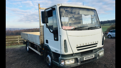 Iveco Euro Cargo 7.5 Ton Flat Bed Pick Up Ideal Recovery Truck Scaffold Clean Px