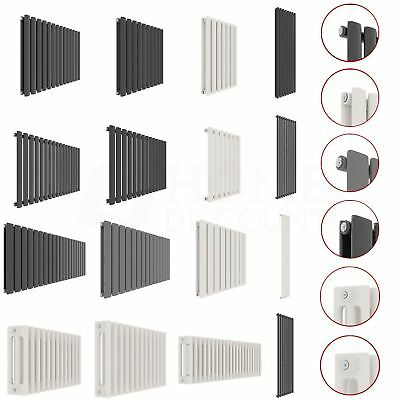 Radiator Designer Vertical Horizontal Column Central Heating Flat Oval Modern