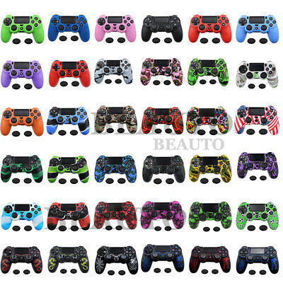 Silicone Protective Controller Skin Case Cover Grip For Dualshock 4 PS4 Slim Pro
