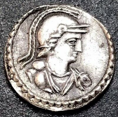 RARE - Silver Siliqua From House Of Constantine. Ancient Roman Imperial Coin.