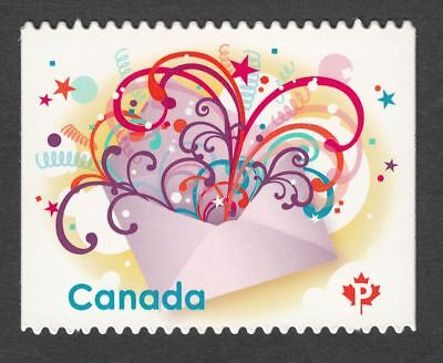 CELEBRATION = Quarterly Pack DIE CUT stamp MNH-VF Canada 2009 #2314i