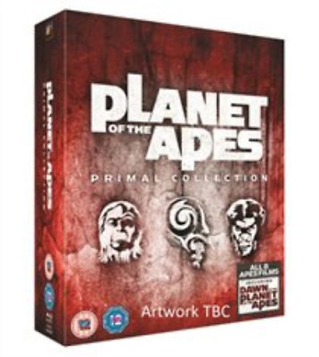 Judy Greer, Toby Kebbell-Planet of the Apes: Primal Collection Blu-ray NUEVO