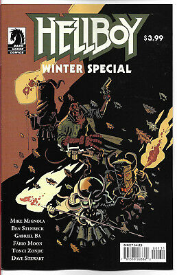 HELLBOY WINTER SPECIAL 2018 - MOON Cover - New Bagged (S)