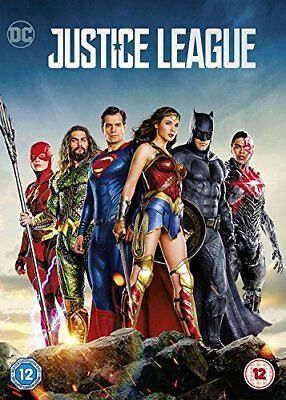 Justice League  with Ben Affleck New (DVD  2018)