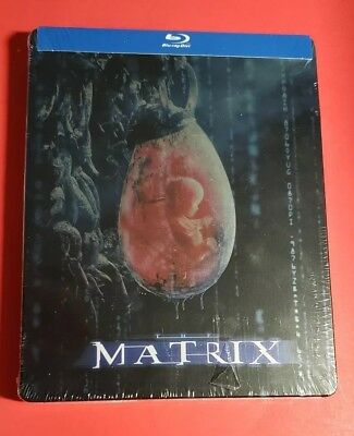THE MATRIX-10th Anniversary-Limited Edition SteelBook(Blu-ray)NEW-Free Shipping