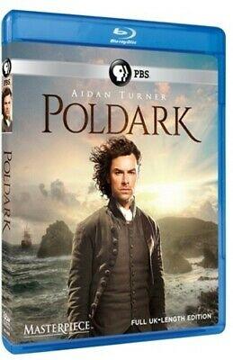 Poldark: The Complete First Season (Masterpiece) [New Blu-ray] 2 Pack
