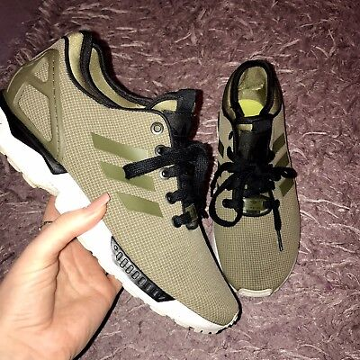 67139a0b4 KHAKI ADIDAS ZX Flux Torsion