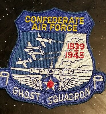 Scarce WWII US Army AAC Air Corps Confederate USAAC GHOST Patch
