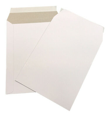 500 - 6x8 Cardboard Envelope Mailers Flat Self-Seal Photo Mailer