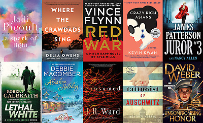 Best 10 books Sellers in The New York Times October 2018 (EPUB)(PDF)(EB00K)