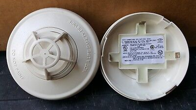 Two Simplex 4098-9733 Heat Detector