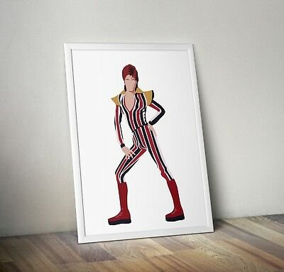 David Bowie, Poster, Print, Wall Art, Home Decor, Gift