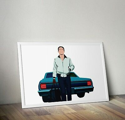 d2269 Movie//Film Art Print//Poster Ryan Gosling Drive