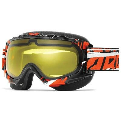 Arctiva Orange Comp 2 Wrap Snow Goggles w/Yellow lens 2601-1458