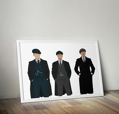 Peaky Blinders, TV Series, Poster, Print, Wall Art, Home Decor, Gift