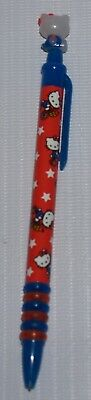 "Sanrio Hello Kitty ""Tricycle"" Mechanical Pencil with mascot on top (2000)"