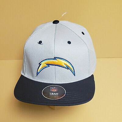 5d606555c5d Youth Boys Los Angeles Chargers NFL Team Flatbrim Snapback Hat-Dark Navy-1  Size