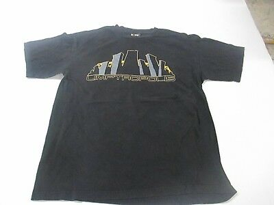 VTG 1999 Limp Bizkit Limptropolis Tagged Giant Large With Tour Cities T Shirt