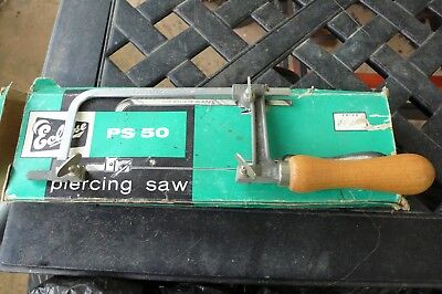 Eclipse Ps50 Piercing Coping Jewelry Hand Saw Sheffield England