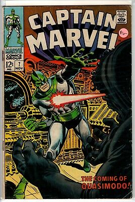 Captain Marvel (1968 series) #6, 7, 8, 13 & Giant Size Special; Monica Rambeau