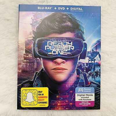 Ready Player One (Blu-ray+DVD, 2018, 2-Disc Set)
