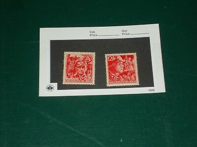 Nazi Germany 1945 Postage Stamp Lot SS Last Ones Issued Third Reich Stormtrooper