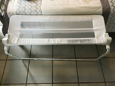Childcare Bed Guard Safety Rail 102cm White Great Condition PICK UP ONLY