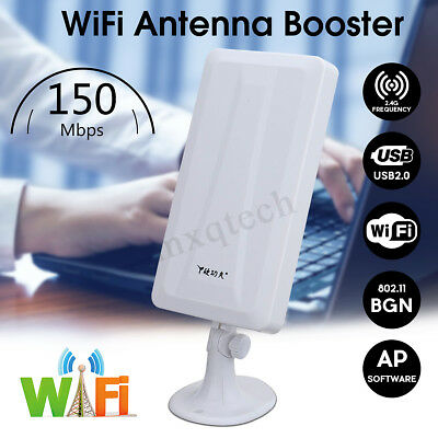 WIFI ANTENNA LONG Distance Router Wireless Extender Booster Repeater USB